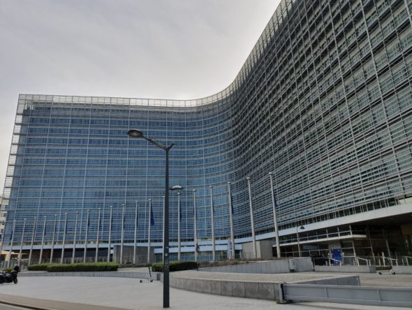 Budynek Komisji Europejskiej w Brukseli / fot. Wojciech Jakóbik/BiznesAlert.pl
