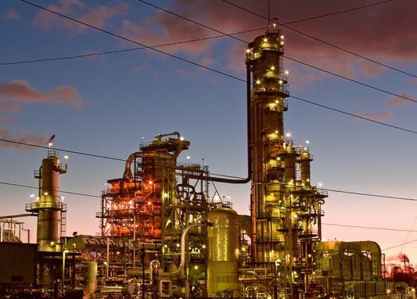 chevron ropa rafineria