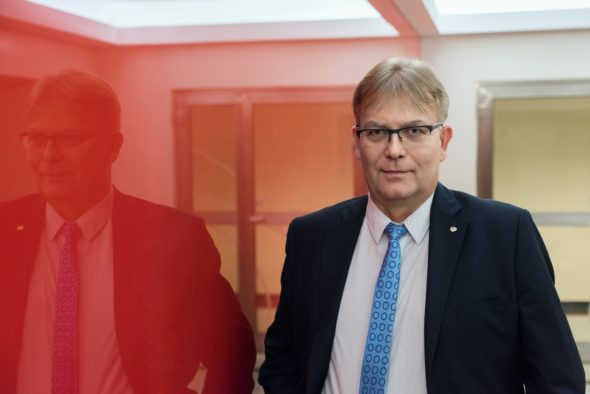Ryszard Bryła, dyrektor Departamentu Architektury, Projektów i Informatyki w PKP Energetyka S.A.