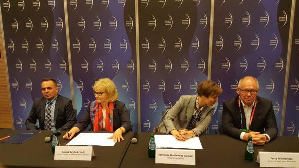 Sygnowanie umowy JSW Koks i Rafako fot. BiznesAlert.pl