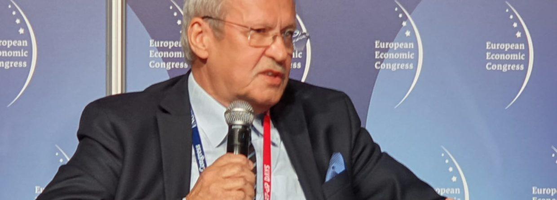 Prof. Janusz Steinhoff podczas EKG 2019 fot. BiznesAlert.pl