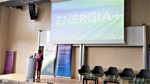 Minister Jadwiga Emilewicz podczas konferencji KEO 2019 fot. BiznesAlert.pl