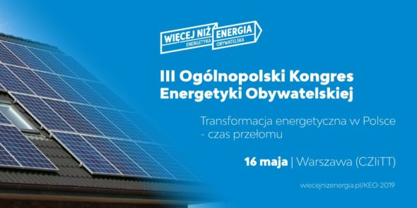 III Kongres Energetyki Obywatelskiej pod patronatem BiznesAlert.pl