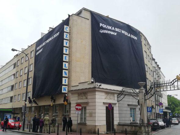 Greenpeace prostest