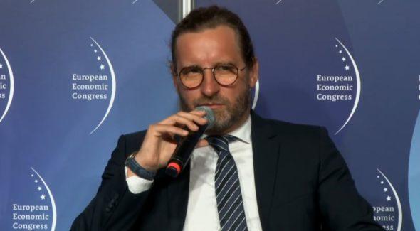 Wiceprezes Kamil Kamiński z Grupy Tauron. Fot. BiznesAlert.pl