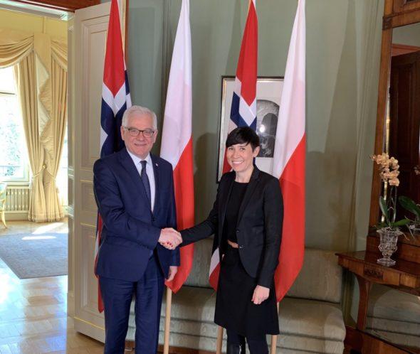 Polska Norwegia MSZ