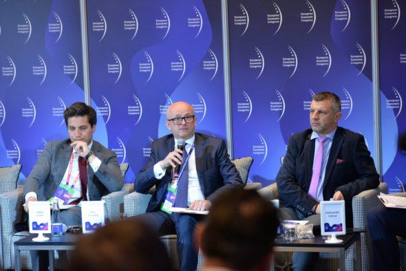 Wiceprezes GAZ-SYSTEM Artur Zawartko podczas EKG 2019 fot. Gaz-System