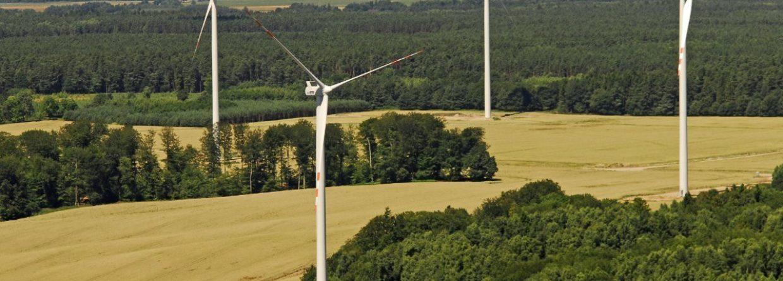 Farmy wiatrowe. Źródło: Tauron