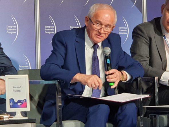 Minister Krzysztof Tchórzewski podczas EKG 2019 fot. BiznesAlert.pl