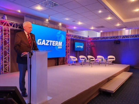 Piotr Naimski podczas konferencji Gazterm 2019 fot. BiznesAlert.pl
