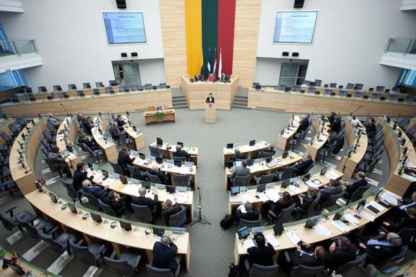 Litewski Sejm. Źródło: Wikipedia