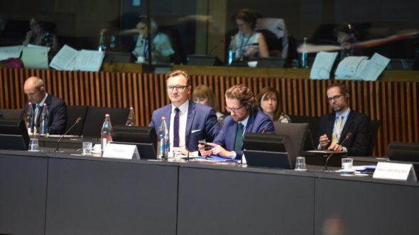 Posiedzenia Rady UE ds. Środowiska (ENVI).  Fot.: Ministerstwo Środowiska