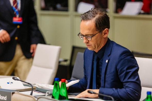 Minister spraw zagranicznych Heiko Maas. Źródło: Flickr