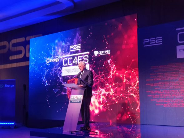 Piotr Naimski podczas konferencji CC4ES w Krakowie fot. BiznesAlert.pl
