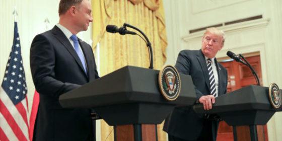 Andrzej Duda i Donald Trump. Fot. Kancelaria Prezydenta