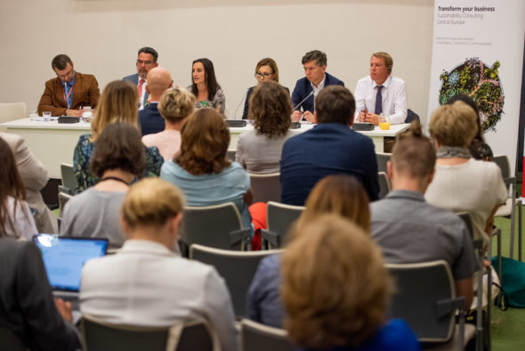"""Debata """"Światowy Dzień Środowiska"""" fot. Piotr Dymus"""