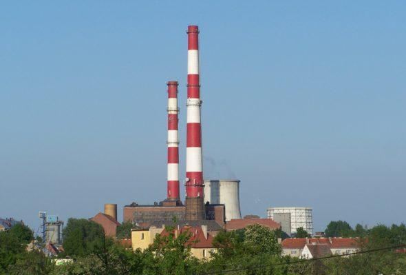Elektrociepłownia Czechnica. Źródło:Wikipedia