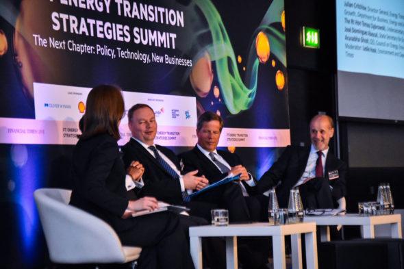 Wiceminister energii Tomasz Dąbrowski 27 czerwca 2019r. wziął udział w konferencji FT Energy Transition Strategies Summit zorganizowanej przez Financial Times w Londynie.. Fot. Ministerstwo Energii