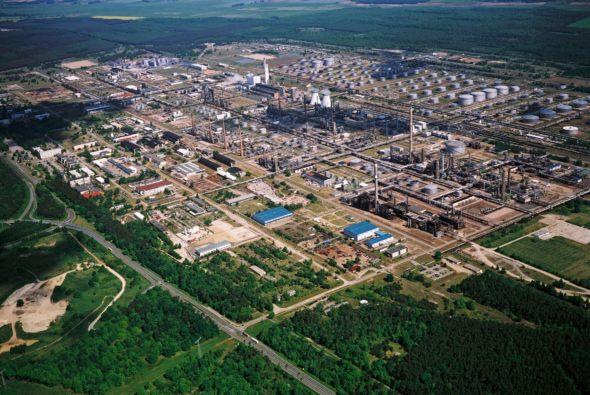 Schwedt , rafineria, ropa