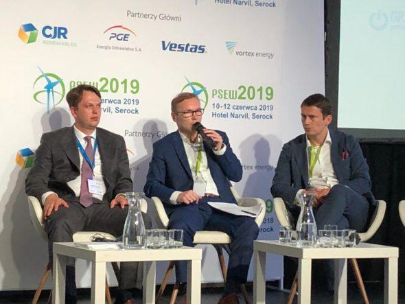 Maciej Kapalski z Ministerstwa Energii  podczas konferencji PSEW 2019. Fot. BiznesAlert.pl