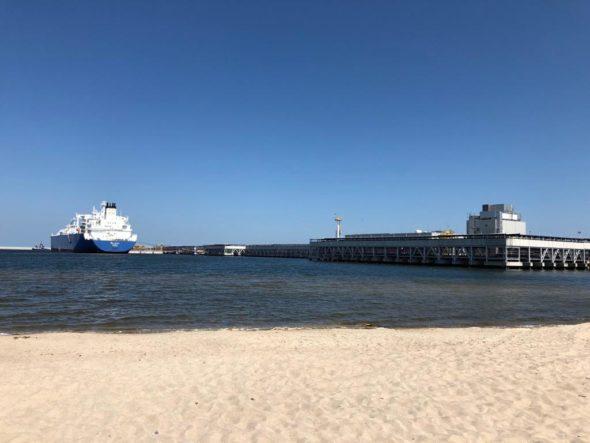 Pierwsza dostawa LNG do Polski w ramach długoterminowego kontraktu PGNIG z Cheniere Energy fot. Bartłomiej Sawicki/BiznesAlert.pl