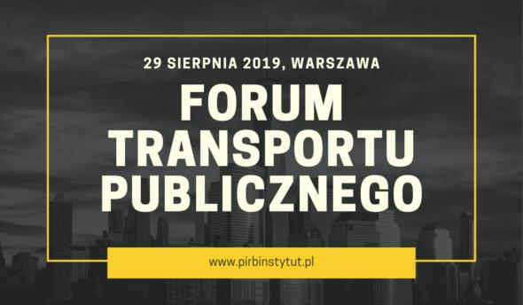 Forum Transportu Publicznego pod Patronatem BiznesAlert.pl