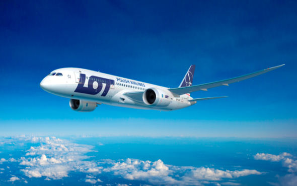 Boeing 787 Dreamliner. Źródło: PLL LOT