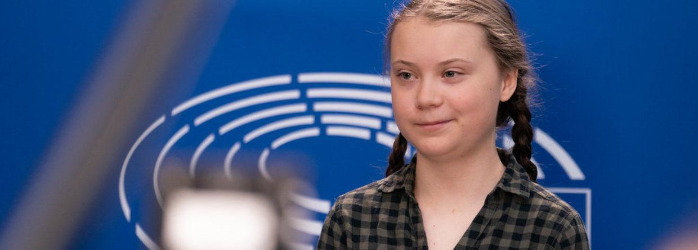 Greta Thunberg. Źródło:Flickr