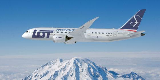 BOEING 787 DREAMLINER fot. PLL LOT