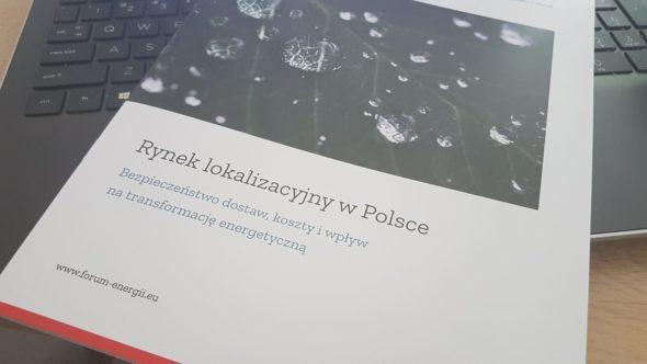 Nowy raport Forum Energii. Fot. BiznesAlert.pl