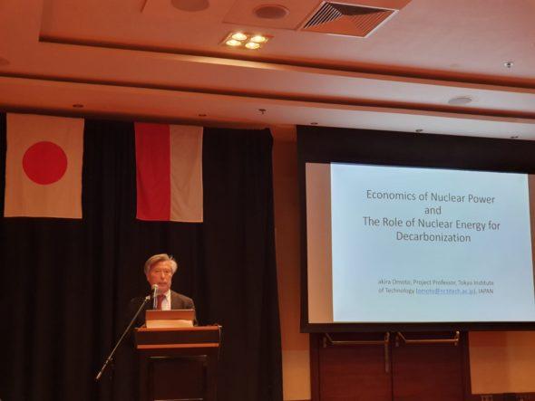Polska Japonia seminarium o atomie 23.07.2019