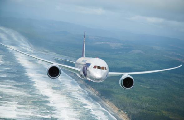 Polski Boeing 787 Dreamliner. Źródło: PLL LOT