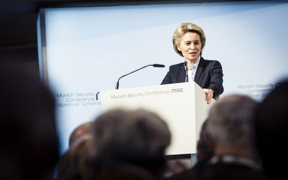 Ursula von der Leyen fot. Kuhlmann /MSC