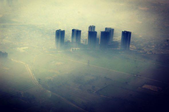 Zanieczyszczenie powietrza smog