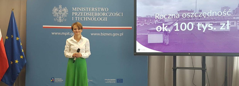 Minister Przedsiębiorczości i Technologii Jadwiga Emilewicz fot. Piotr Stępiński/BiznesAlert.pl