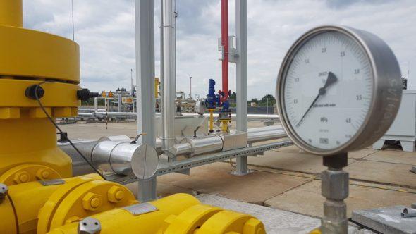 gaz energetyka tłocznia