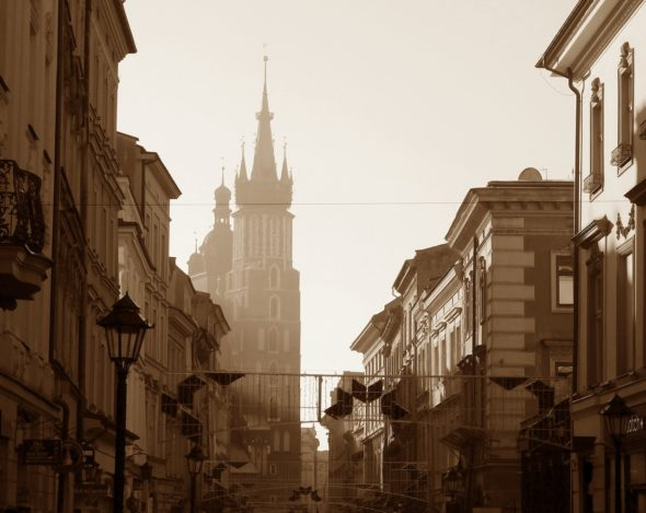 kraków polska smog powietrze