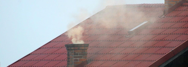 Dym z komina,. fot. Pixabay