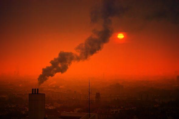 smog powietrze