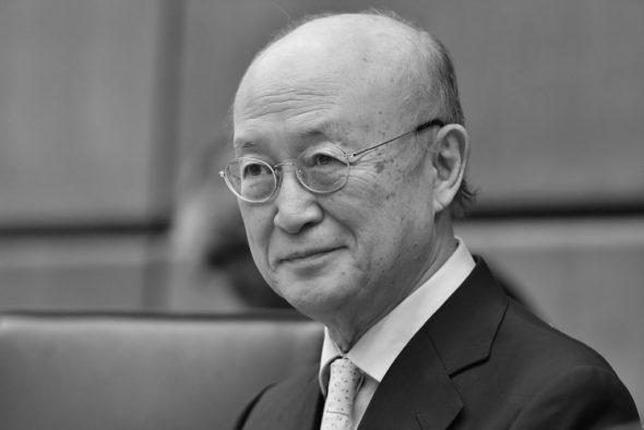 Nieżyje szef MAEA Yukiya Amano. Fot. Flickr