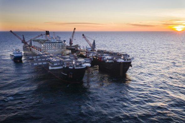 fot. Nord Stream 2  Pioneering Spirit