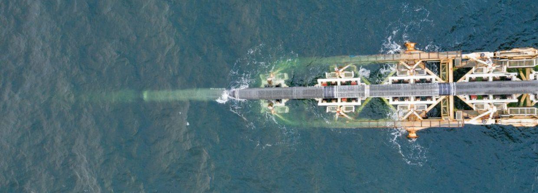 Budowa na morzu. Fot. Nord Stream 2
