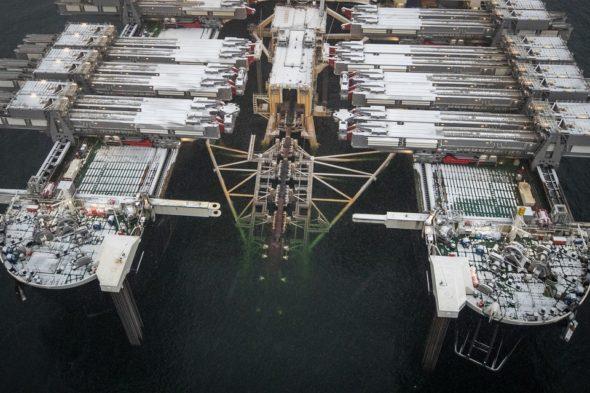 Statek do budowy gazociągów. Fot. Nord Stream 2