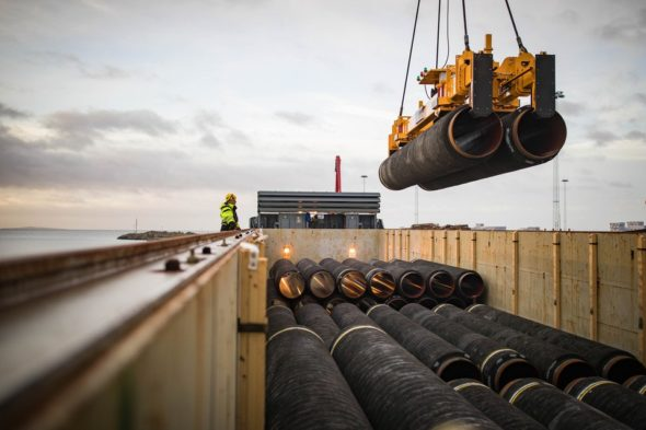 Rury Nord Stream 2. fot. Nord Stream 2 AG
