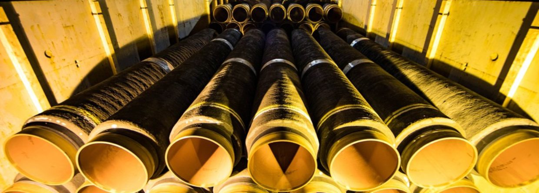 Rury. fot. Nord Stream 2