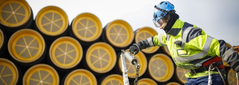 Rury projektu Nord Stream 2. Fot. Nord Stream 2