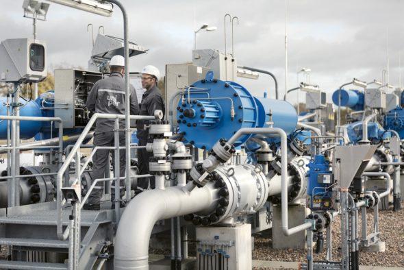 gaz rury rurociąg uniper
