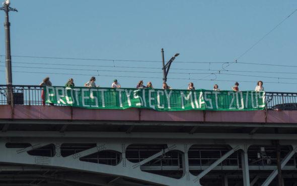 Młodzieżowy Strajk Klimatyczny Fot. Stanisław Otto/MSK