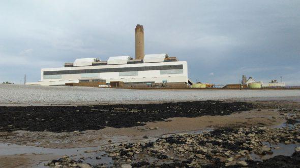 Elektrownia Aberthaw B w Walii. Źródło- Wikicommons