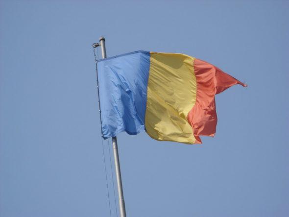 Flaga Rumunii. Źródło: Flickr